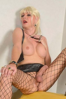 Busting her hot load all over her website is shemale superstar Joanna Jet